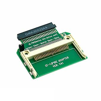 """Memory Card Compact Flash To 50pin 1.8"""" Ide Hard Drive Ssd Adapter"""