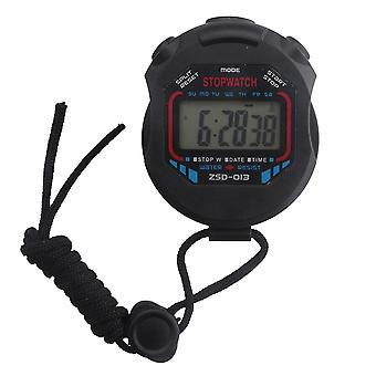 Handheld digitale Lcd Chronograph Sports Counter Stopwatch Timer Alarm Stop