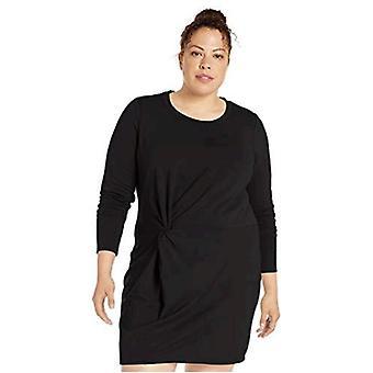 Brand - Core 10 Women's (XS-3X) Soft Cotton Modal Fleece Twist Long Sl...
