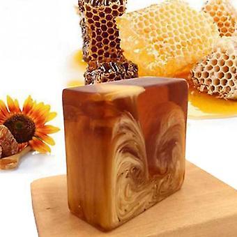 Natural Handmade Honey Soap Propolis Honey Milk Soap For Face Care