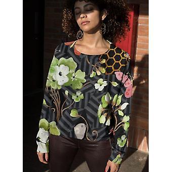 Alpine flower pot sublimation sweatshirt