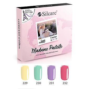 4-pack - Gel varnish - Flexy - Madam pastel set UV gel/LED