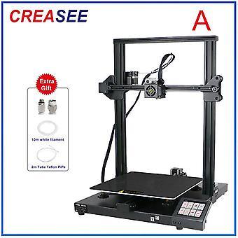 Creasee cs30 새로운 3d 프린터 300x300 대형 가정용 크기 인쇄 diy 키트 3.5인치 터치 스크린 상업용 프린터 3d 듀얼 z 축