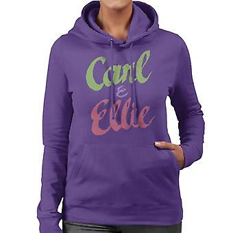 Pixar Up Carl And Ellie Women's Hooded Sweatshirt
