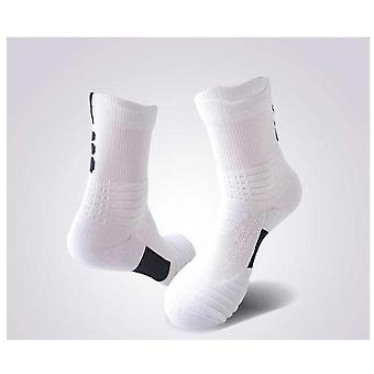 Super Elite Thick Thermal Sports Socks, No Slip Basketball Socks