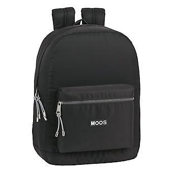 Laptop Backpack Moos 15,6'' Black