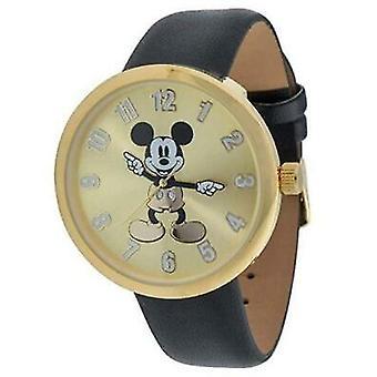 Mickey Mouse Unisex Analogue Quartz Watch with Polyurethane Strap