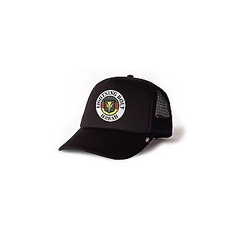 Lightning bolt hawaii trucker hat