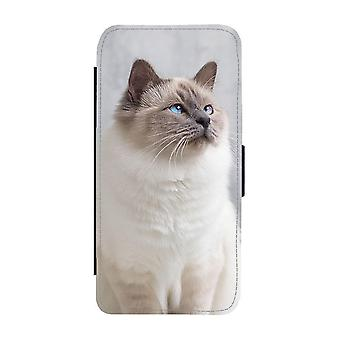 Cat Holy Birma Samsung Galaxy S20 FE Wallet Case