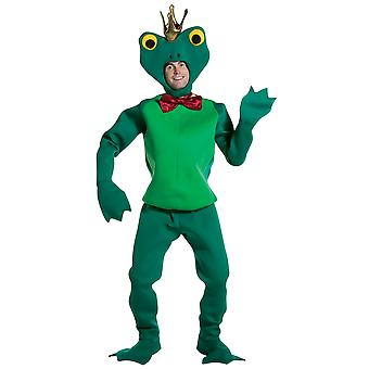Mens Frog Prince Fairy Tale World Book Day Fancy Dress Costume