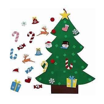 3.1FT Kände julgran prydnader Festival Decor Style A