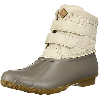 Sperry Womens Saltwater Jetty Closed Toe Ankle Cold Weather Boots