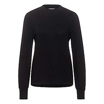 Street One 315730 T-Shirt, Black, 44 Woman