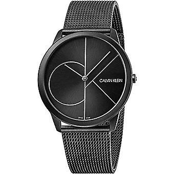 Calvin Klein Analog Watch Miesten kvartsi ruostumattomasta teräksestä valmistettu hihna K3M5T451