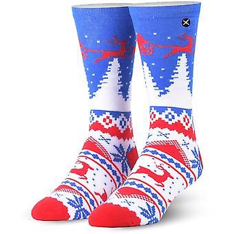 Odd Sox Winter Crew Socks in Multi