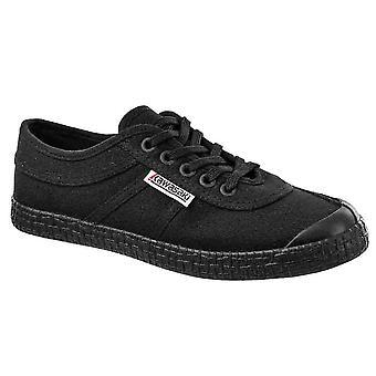 KAWASAKI FOOTWEAR - Original canvas shoe - black solid - men's footwear