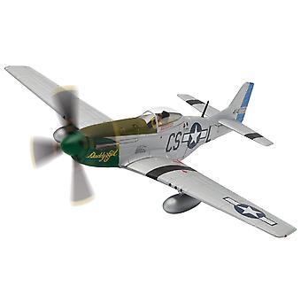 Noord-Amerikaanse P-51D Mustang ' Daddy's Girl ' (Capt. Ray Wetmore) Diecast model vliegtuig