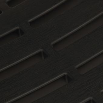 vidaXL 3 stuks. Bistro-Set Opvouwbaar Kunststof Grijs