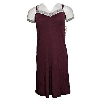 Siella Montreal Women's Saskia Modal Nightie Red A439145Dress