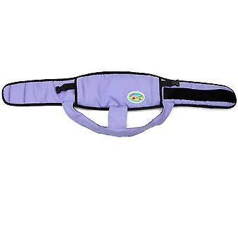 Ceinture de fixation de chaise à manger pour bébé violette, ceinture de protection anti-chute az22443