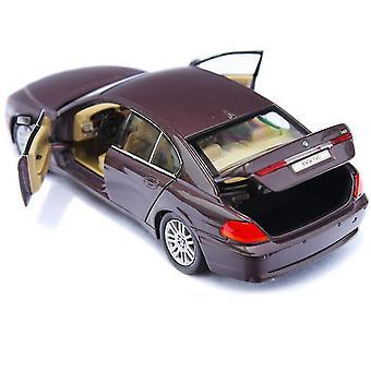 New Mini Car 1:24 Simulation Alloy Car 745i Model ES12844
