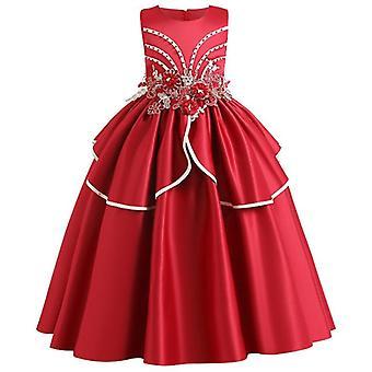 Pageant Lace Petal, Long Banquet, Gown Dresses For Set-16
