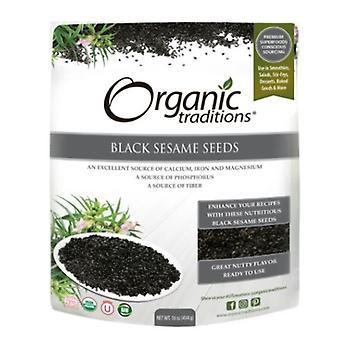 Organic Traditions Black Sesame Seeds, 16 Oz
