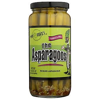 The Asparagoos Asparagoos Garlic & Dill, Case of 12 X 16 Oz