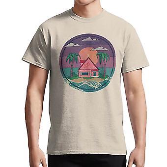 كامي البيت تي قميص التنين الكرة dragonball روشي غوكو