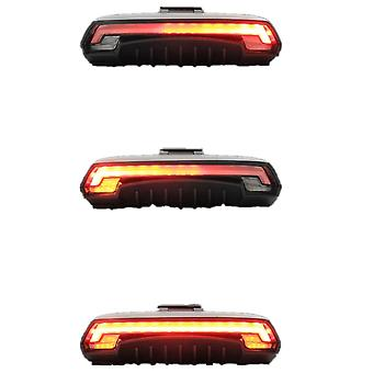Bicycle Tail Light Remote Control Wireless Turn Signal Led Beam Usb