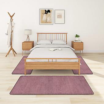vidaXL høy haug seng matte 3 stk. lilla