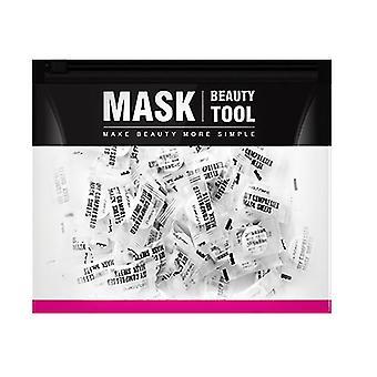 100 PCs Compressed Facial Mask Sheet Beauty Diy Disposable Mask Paper