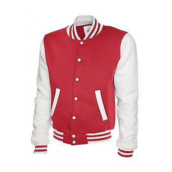 Uneek Mens Varsity Jacket UC525
