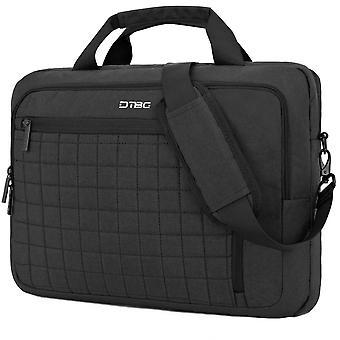 Laptop Bag  Briefcase Shoulder Messenger Bag Waterproof Laptop Bag Satchel Tablet Business Carrying Handbag,grey