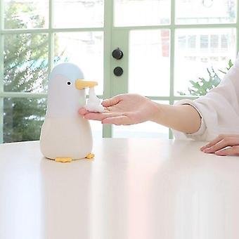 Söpö pingviini automaattinen saippua-annostelija