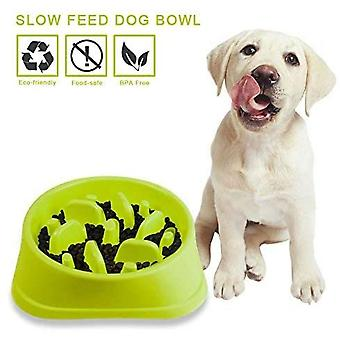 Non-slip Labyrinth Pet Food Bowl - Promotes A Healthy Diet And A Slow Digestion