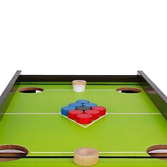Puinen biljardi biljardi pöytä pelipöytä biljardi peli perheen jääpallo pöytä peli