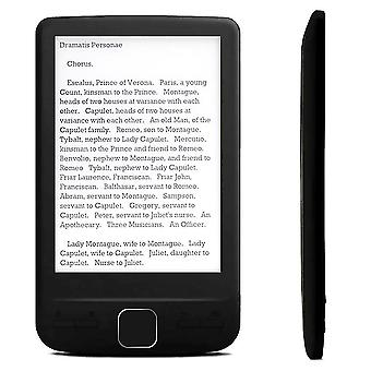 4,3 tommer e-blæk e-bog-læser LCD smart e-reader 4/8/16GB hukommelse elektronisk bog hd digital e-bog