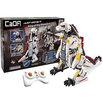 Robot dino RC ovladitelný – Self build – DIY hračky