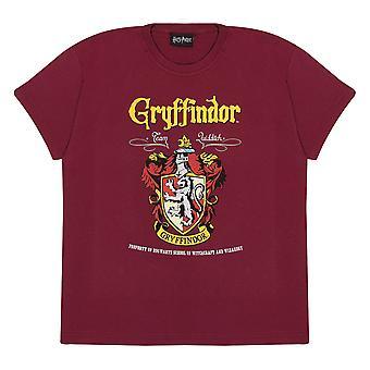 Oficjalna koszulka dla dzieci Harry Potter Gryffindor Crest Boys Girls