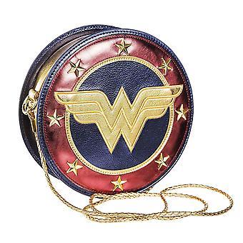 Wonder Woman Womens/Ladies Shield Crossbody Bag