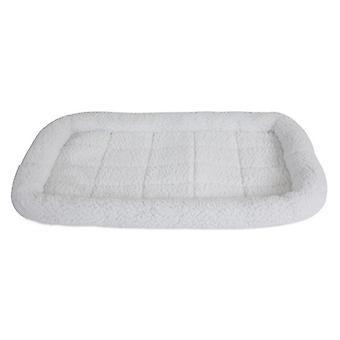 """الدقة الحيوانات الأليفة SnooZZy سرير الحيوانات الأليفة الأصلي سرير الوفير - أبيض - متوسط (29""""L X 18""""W)"""
