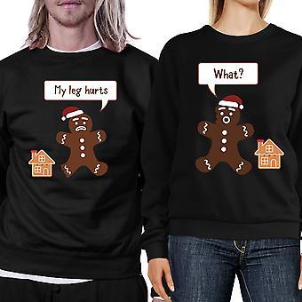 Pepperkaker par Sweatshirts juleferien matchende topper