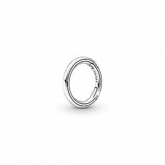 Pandora Me Pyöreä Liitin - 799671C00 Hopea