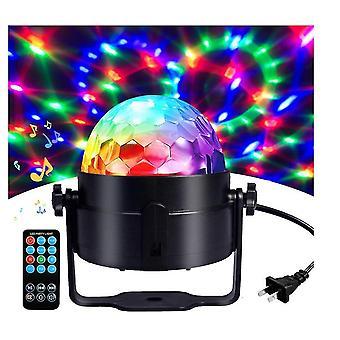 Disco Ball Party Valot Storbe Kevyt Kaukosäädin Valaistus Led Light Bal