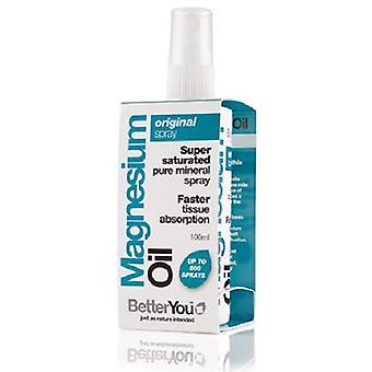BetterYou, Magnesium Oil Original Spray, 100ml