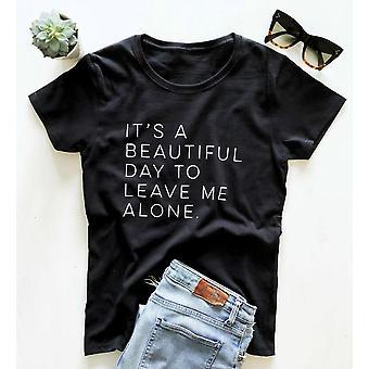 T-shirt drôle d'impression de lettre de femmes