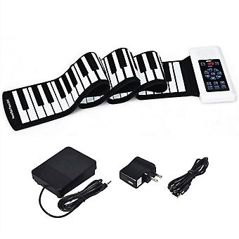 Écran tactile Hand Roll Electronic Piano Ptouch Screen Hand Roll Electronic Piano Portable 88 touches Débutant Adulte Accueil Bluetooth Midi Hand Roll Pianoort