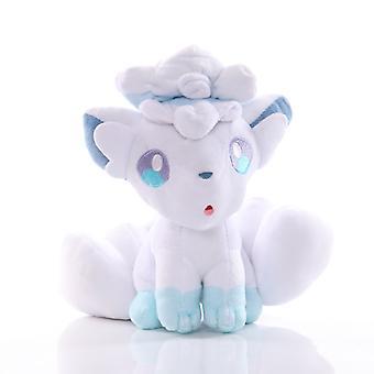 21cm Alola Vulpix Pehmolelu Valkoinen Pokemon Vulpix Kuusihäntäinen Kettu Pehmolelut Nukke Lapsille Lasten Tyttöjen Lahja
