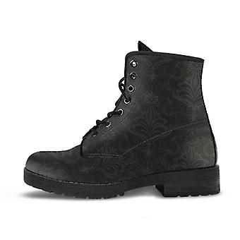 Combat boots - classic pattern #113 | unisex boots, custom shoes, hippie boots, 90s boots, women's boots